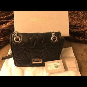 NWT authentic Jimmy choo black bag